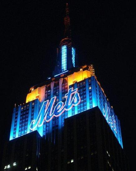 Mets Empire State Building