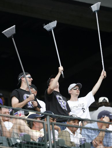 Rockies Sweep
