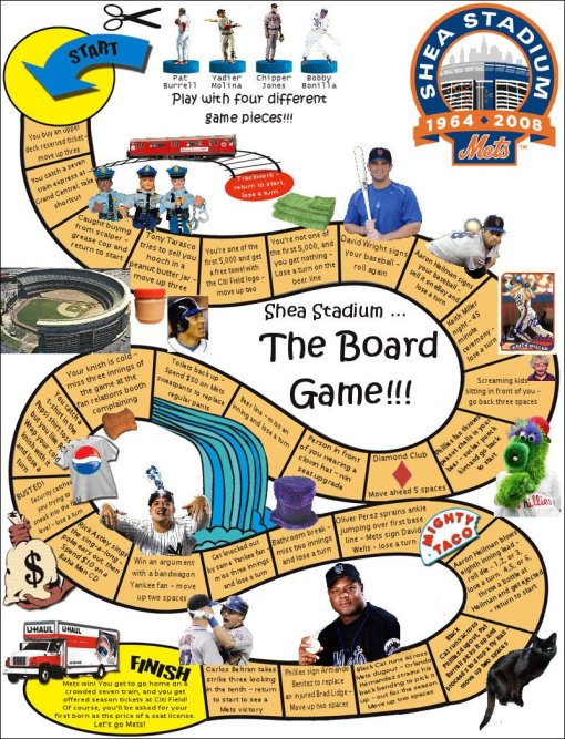 Mets Board Game